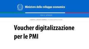 Elenco aziende di tutte le regioni italiane ammesse al voucher della digitalizzazione